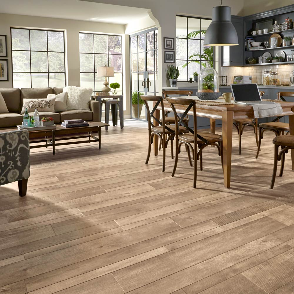 Exploring flooring options for the house