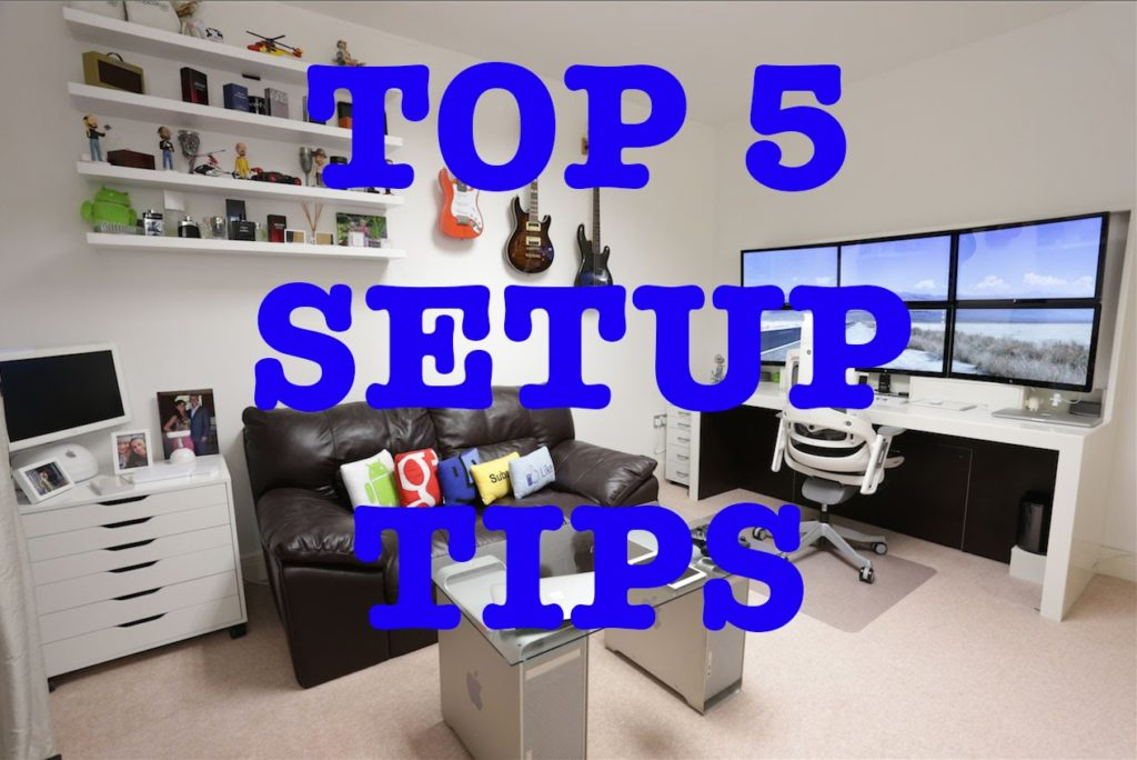 Ideal tips to make a good workplace at home