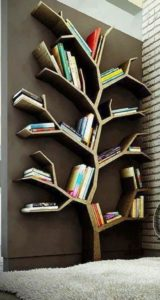 Get rid of heavy unused book shelves